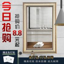 浴室镜壁挂卫浴镜卫生间洗手间防雾灯镜带蓝牙led智能镜子触摸屏
