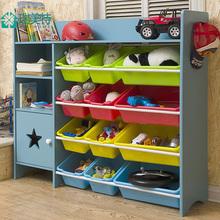 玩具收纳架书架多层置物架子儿童玩具收纳柜箱整理架大容量懒角落