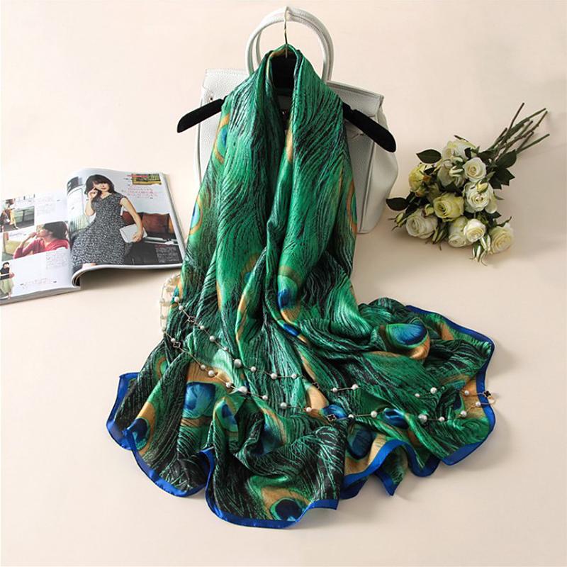 Женские шарфы из шелка Артикул 545446945190