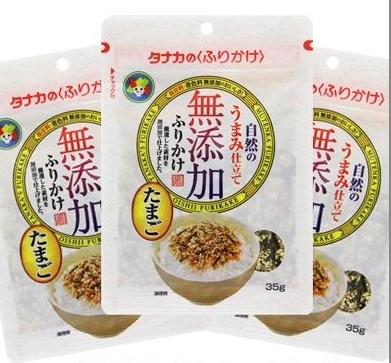 【日本直邮】日本田中食品无添加宝宝营养鸡蛋口味拌饭料 35g
