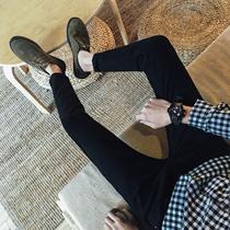 秋季男士牛仔裤男直筒宽松商务休闲青年秋冬新款大码裤子男裤2018