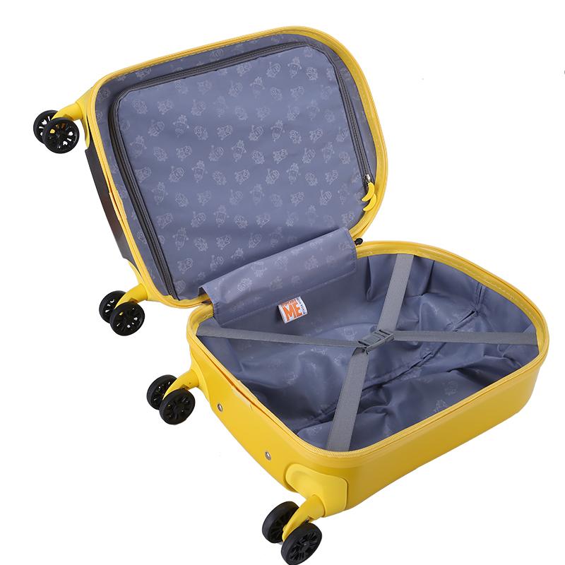 大眼萌小黄人儿童拉杆箱宝宝行李箱男女出游旅行箱可爱卡通可坐