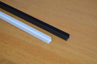 1厘米10mm鱼缸包边条U型pvc卡槽鱼缸盖木箱钢板封边防撞条