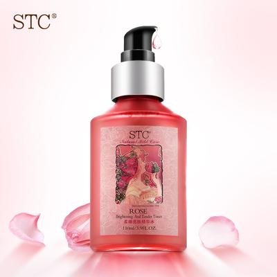 STC爽肤水 女补水玫瑰保湿柔肤水 面部精华水收缩毛孔化妆水