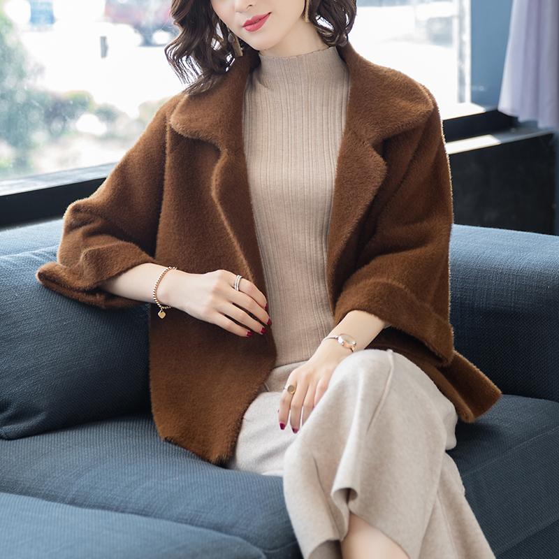 毛衣外套加厚女款