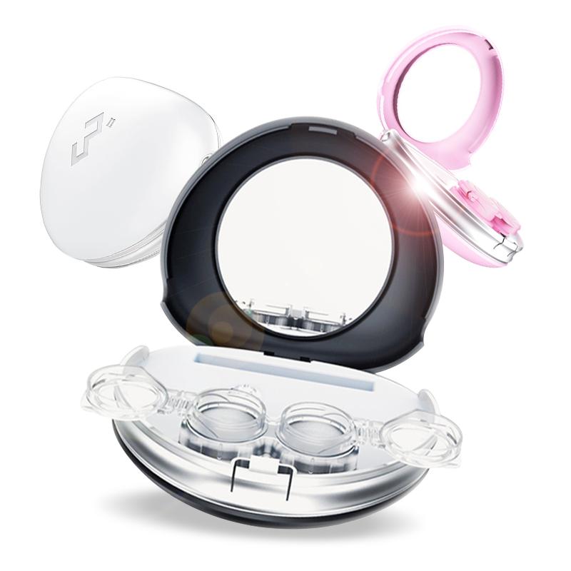 赠2]3N隐形近视眼镜电动自动清洗器除蛋白美瞳盒子rgp硬性隐形镜5元优惠券