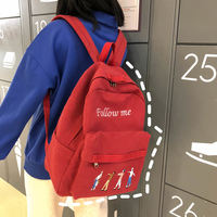 Ancient sense girl bag female campus Harajuku ulzzang high school college student forest versatile shoulder bag female