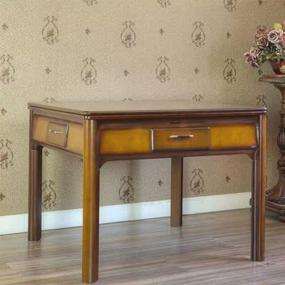 雀王麻将机折叠麻将机全自动餐桌两用机麻家用欧式实木电动麻将桌多少钱