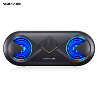 Liqin wireless Bluetooth speaker large volume home phone overweight subwoofer 3D surround small portable outdoor audio WeChat payment collection two-dimensional code to collect money voice broadcast reminder
