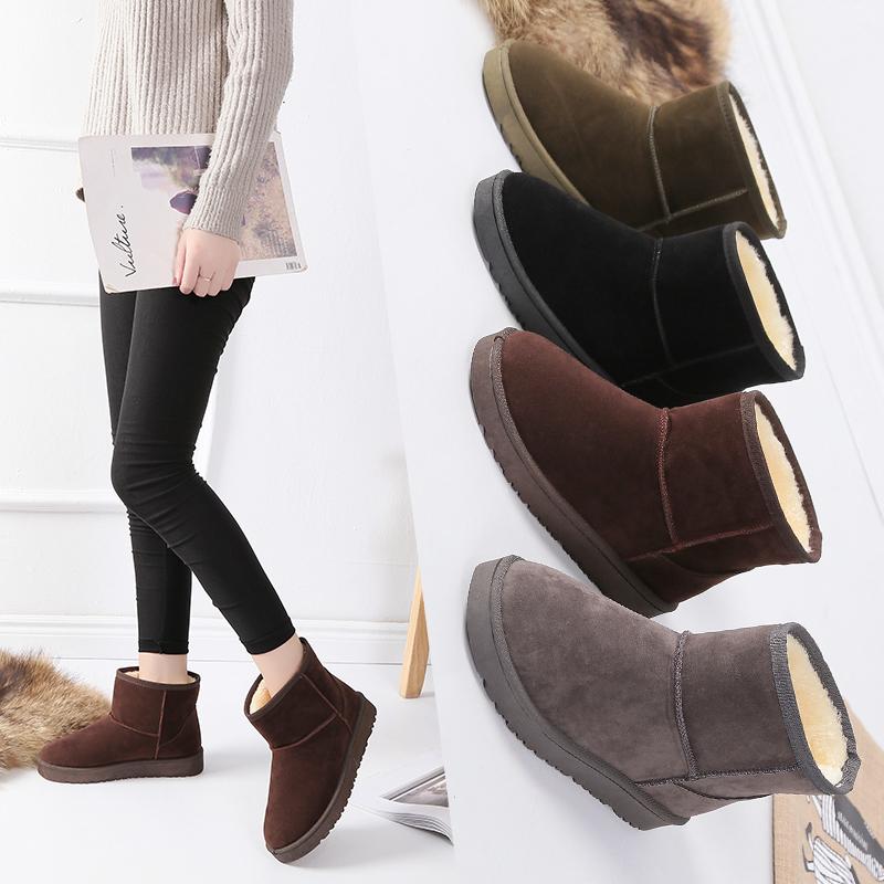 韩版女雪地靴