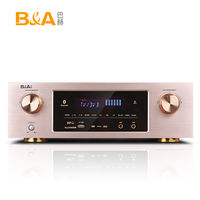 B/A/Bach LPA power amplifier home 5.1 home theater high power professional HIFI digital Bluetooth AV amplifier