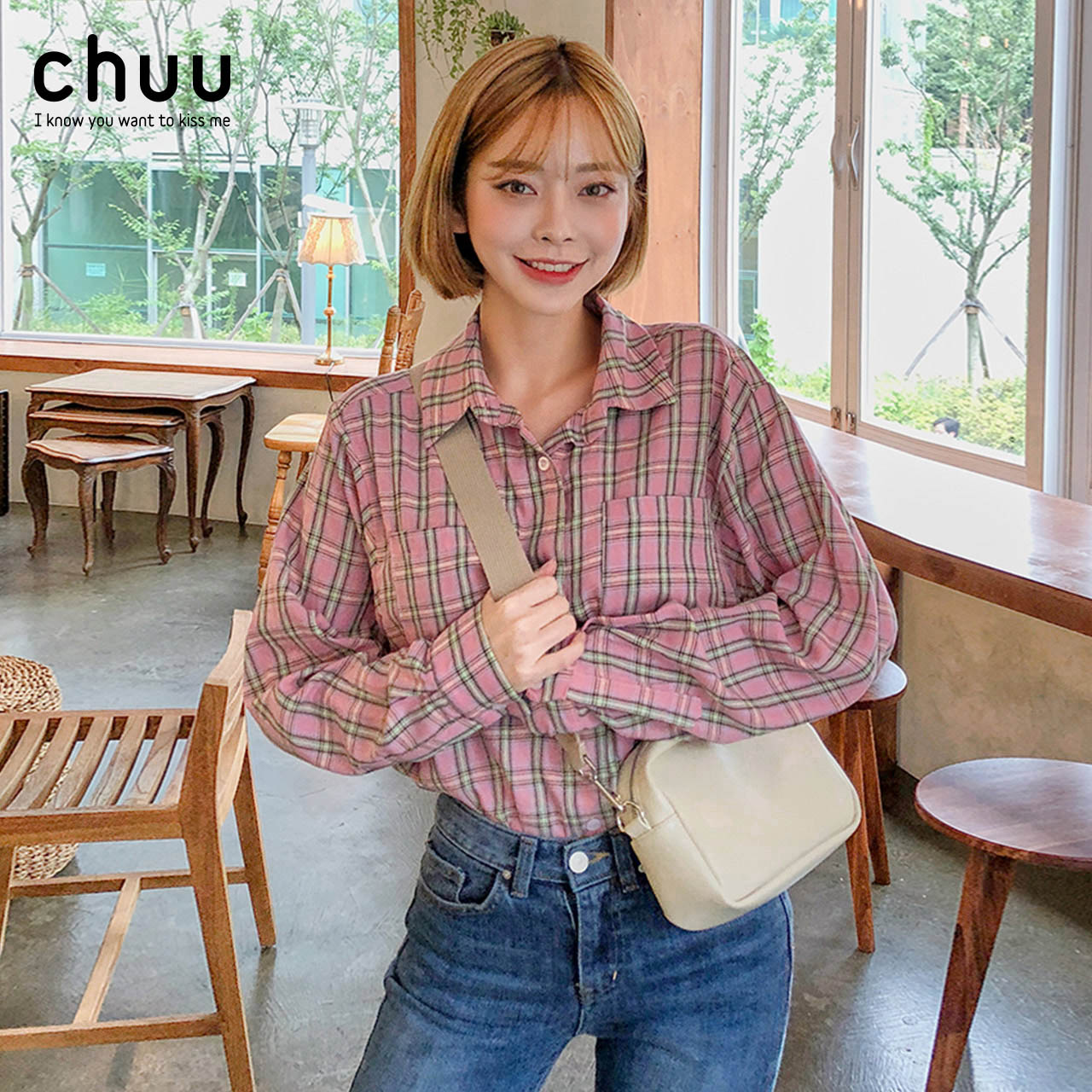 CHUU衬衫