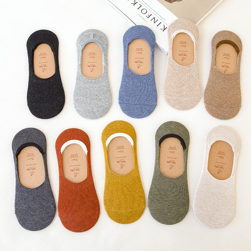 袜子女船袜浅口潮可爱韩版短袜ins日系秋冬季低帮硅胶防滑全隐形