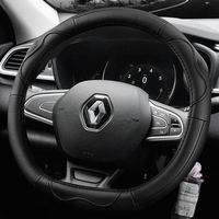 Renault 18 Correo Correga Cardin Espace wind latitude Megane Steering wheel cover leather