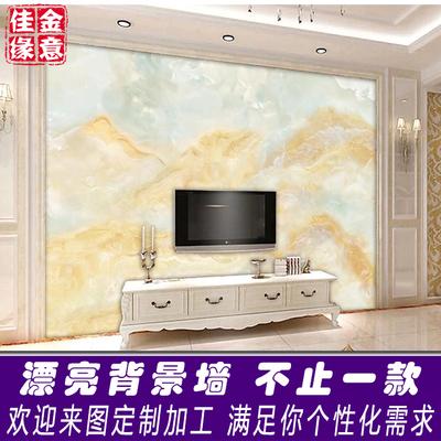 简约客厅电视机背景墙瓷砖