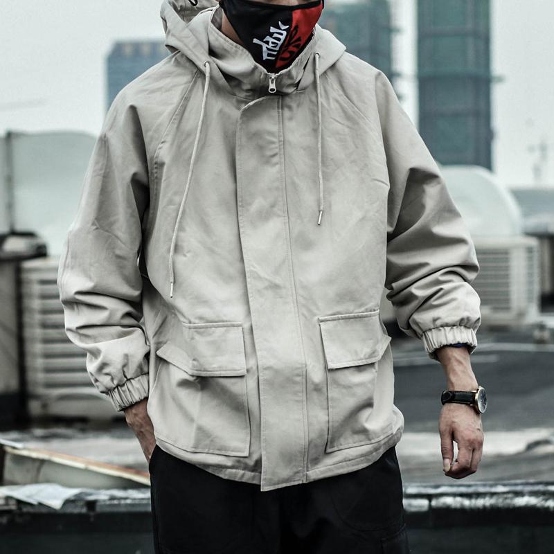 黑色纯棉夹克