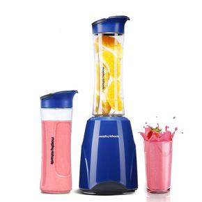 MORPHY RICHARDS/摩飞电器 MR9200 便携榨汁机家用果汁榨汁杯双杯
