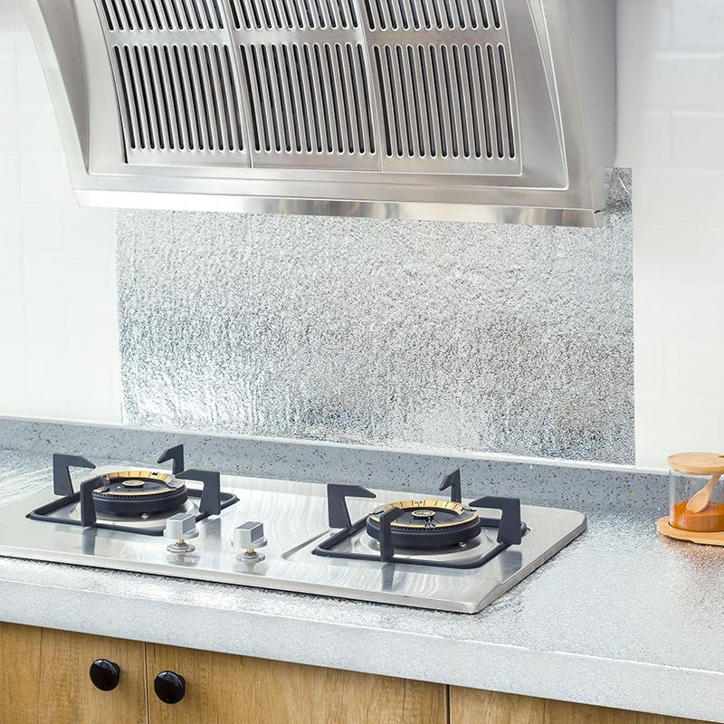 防油粘铝箔铺纸厨柜防水膜衣柜抽屉