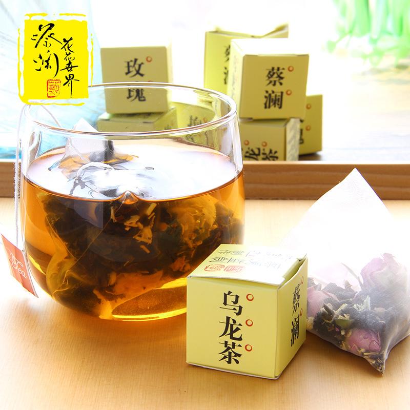 茶叶 人参乌龙茶 浓香型茶包 盒 8 3g 玫瑰抱抱盒仔茶 蔡澜花花世界