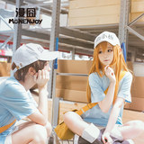 Working cell COS props platelet white blood cell erythrocyte T cell hat around