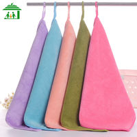 You Shijia Microfiber Grinding Thicken Solid Color Square Towel Small Water Absorbing Kitchen Towel Cleaning Towel Cleaning Towel