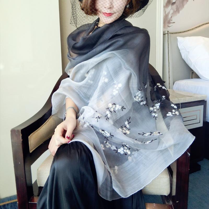 围巾羊毛长巾