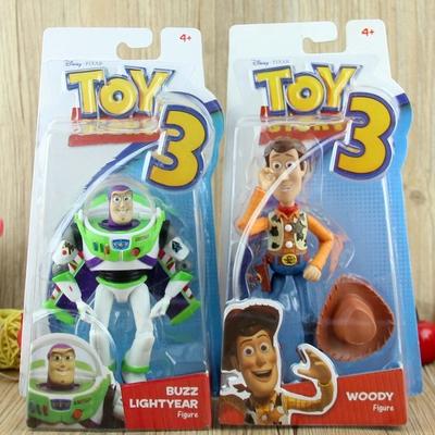 玩具总动员3弹射翅膀巴斯光年 牛仔胡迪警长公仔可动人偶儿童玩具