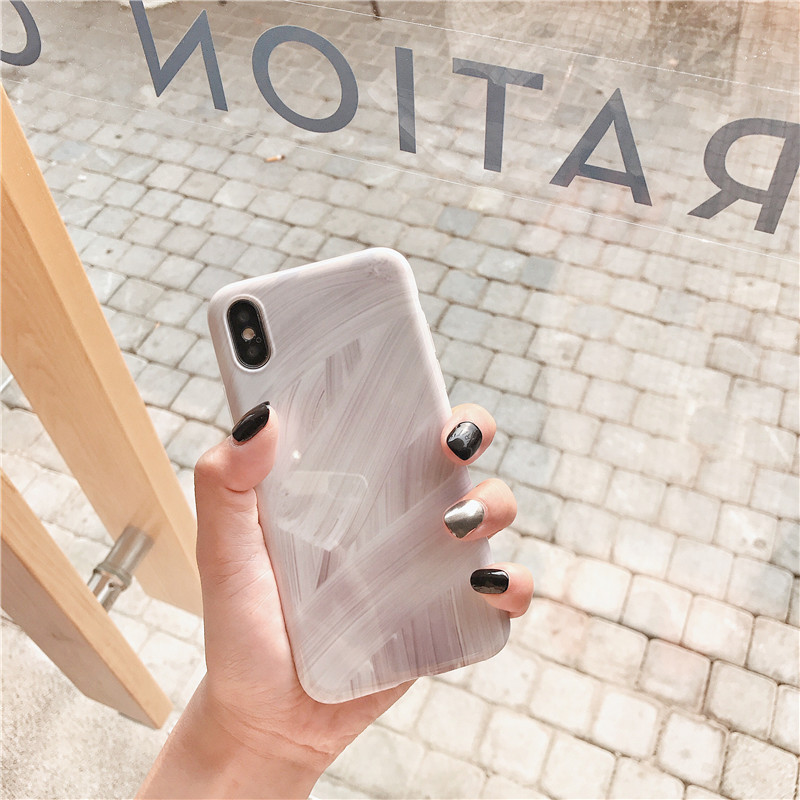 大理石纹理手机壳