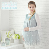 Timing radiation suit maternity dress authentic pregnant women radiation protection clothes female pregnancy period apron inside and outside wearing office workers