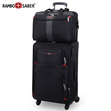 Swiss Army Knife Oxford Cloth Luggage Case Mother Business Pole Box Men's Travel Code Boarding Canvas Case Package