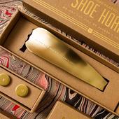 好物丨IZOLA美国黄铜鞋拔子金属提鞋器穿鞋器鞋抽鞋把男绅士礼物