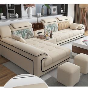 凳子新中式欧式旁边舒适风格沙发两用经济型长方形懒人韩式弧形