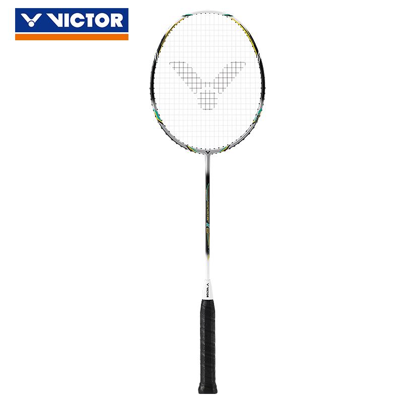 VICTOR/威克多羽毛球拍单拍全碳素业余初级耐打训练进攻类 TK-110