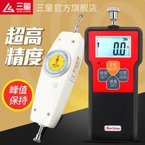 日本三量指针式数显推拉力计拉力测试仪弹簧测力计压力计试验机