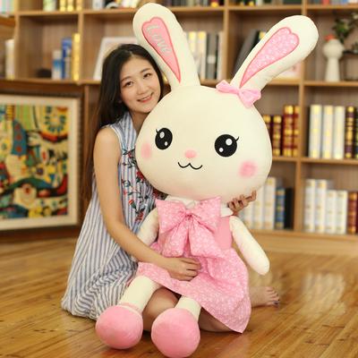 小兔子智能对话白兔毛绒玩具公仔会说话跳舞唱歌的布娃娃儿童女孩