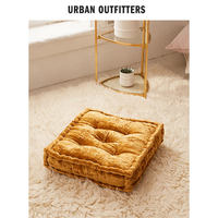 Urban Outfitters Velvet Futon Square Thicken Balcony Tatami Cushion American Home