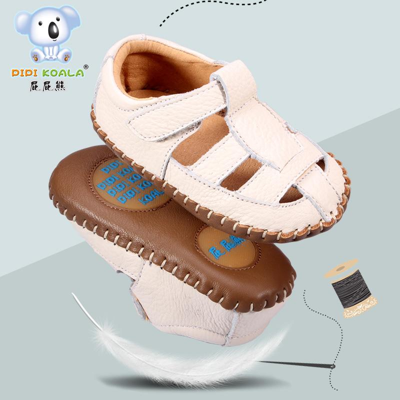 宝宝牛皮凉鞋