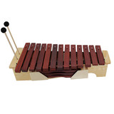 New Orff percussion children knock on the piano to play the piano high school low tone redwood xylophone 13 sound xylophone