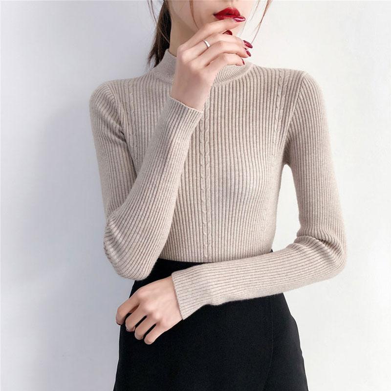 韩版加厚针织衫