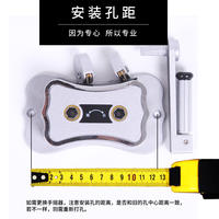 Universal hand crank repair parts lifting rack lift double pole drying rack free punching hand shaker