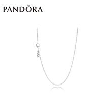 PANDORA潘多拉925银项链590515可搭配串珠吊坠基础项链