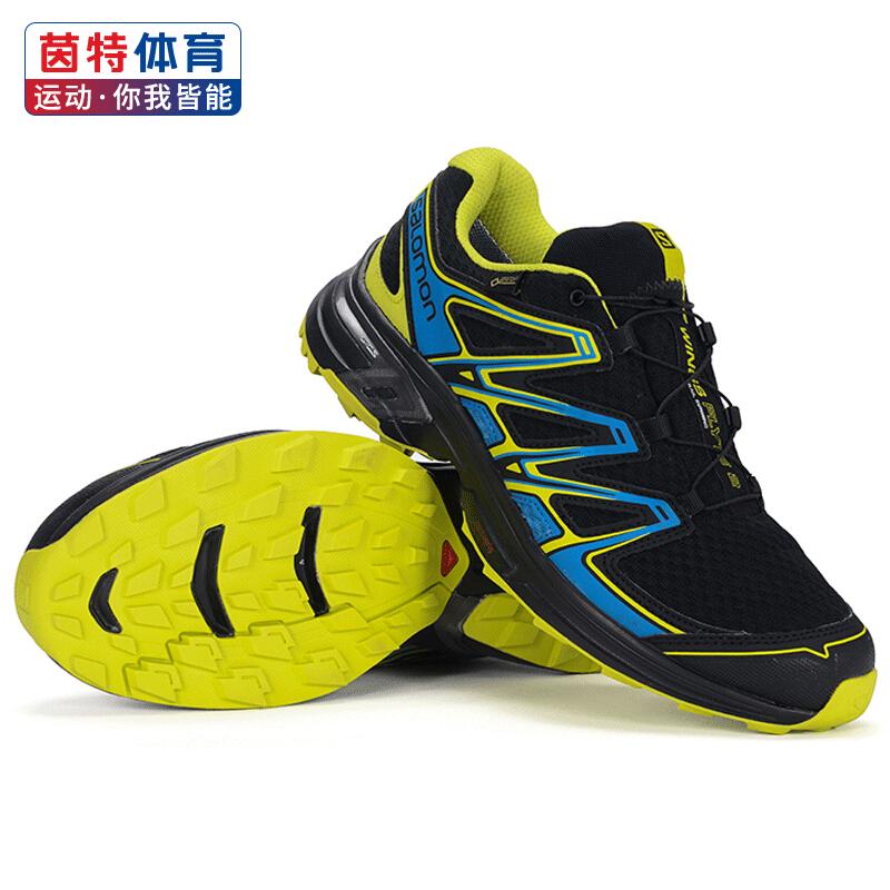 Salomon萨洛蒙男鞋户外WINGS FLYTE 2 GTX运动防水透气越野跑步鞋