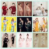 孕妇拍艺术照 新款 衣服孕妇照片写真服装 影楼孕妇装 孕妇摄影服装