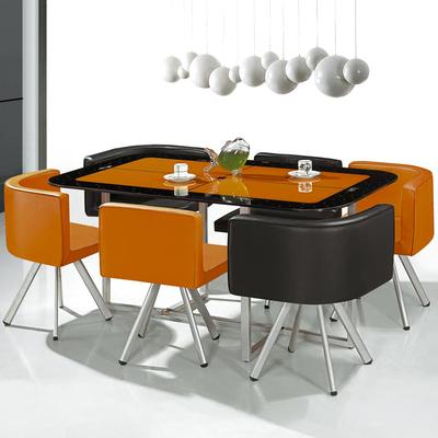 接待会客桌椅洽谈桌椅组合办公休闲桌椅售楼处奶茶咖啡店长桌套装