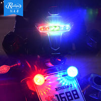 Rui Lipu Electric motorcycle lights modified taillights flashing led lights WISP accessories colorful marquee