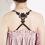 The hollow beauty back cross-shoulder edrified bra strap bra strap strap underwear strap strap strap fine anti-slip strap