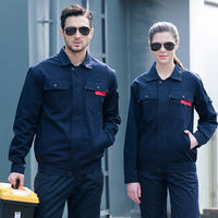 Cotton short-sleeved overalls suit male summer welder anti-scald wear-resistant factory clothes jacket thin section labor insurance pants
