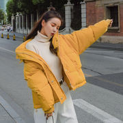 2018 winter new ins Korean short section thick down coat women wild student jacket bread jacket jacket