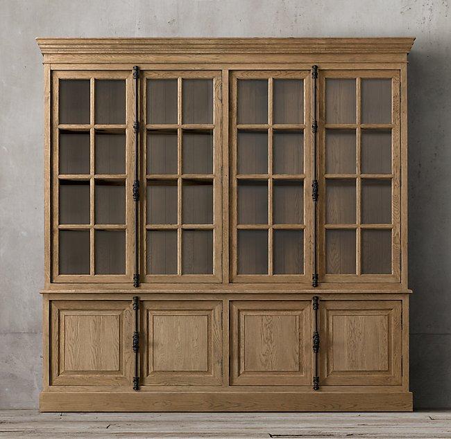 法式 书柜 橡木