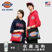 男女时尚 潮流迷你英文单肩包斜跨包C232 Dickies帝客官方夏季新品